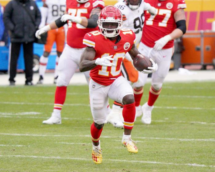 Chiefs: Tyreek Hill, WR