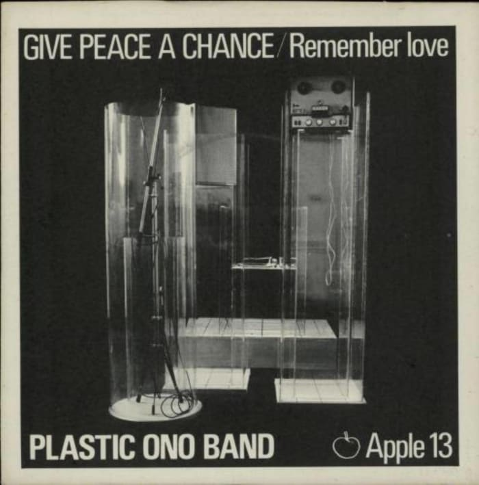 """Give Peace a Chance,"" Plastic On0 Band (1969)"