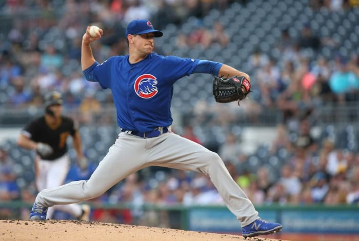 2012: Cubs acquire Kyle Hendricks from the Rangers for Ryan Dempster