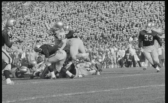 Navy 21, Army 15, Dec. 7, 1963