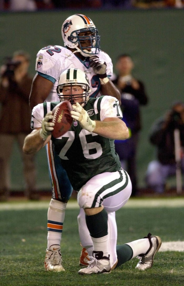 2000: Dolphins at Jets, Week 8