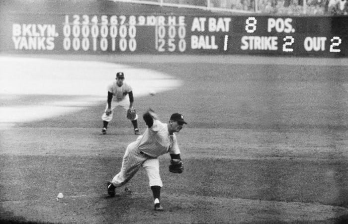 1956: Game 5 - New York Yankees 2, Brooklyn Dodgers 0