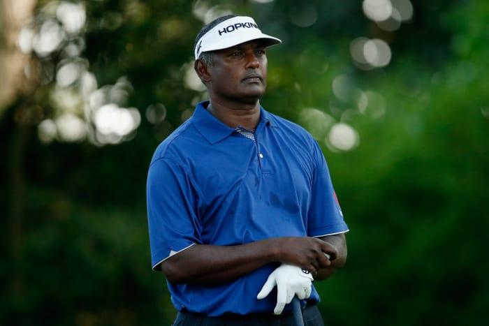 Vijay Singh skips one in at Augusta