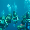 A student studying abroad with Broadreach: Programs at Sea - Caribbean PADI Certification
