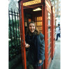 A student studying abroad with IES Abroad: London - Study London