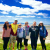 A student studying abroad with American College Dublin: Irish Language & Culture Program