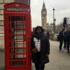 A student studying abroad with Arcadia: London - King's College London