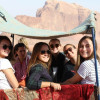 A student studying abroad with CET Jordan: Internship