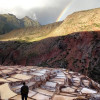 A student studying abroad with Linguistic Horizons: Intern in the Sacred Valley, Peru