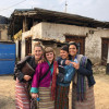 A student studying abroad with Naropa University: Bhutan Study Abroad Program