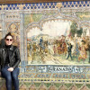 A student studying abroad with Sol Education Abroad - IMSOL Winter Break Program in Granada, Spain