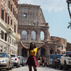 A student studying abroad with CAPA The Global Education Network: Florence Study or Intern Abroad