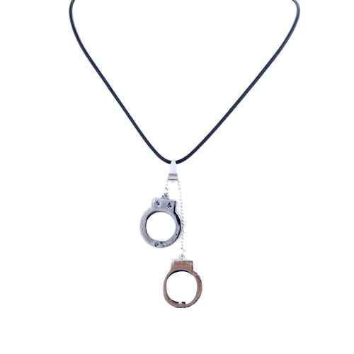 Handcuff Shaped Pendant