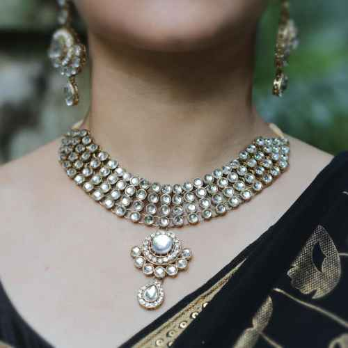 Gorgeous Kundan Choker Set