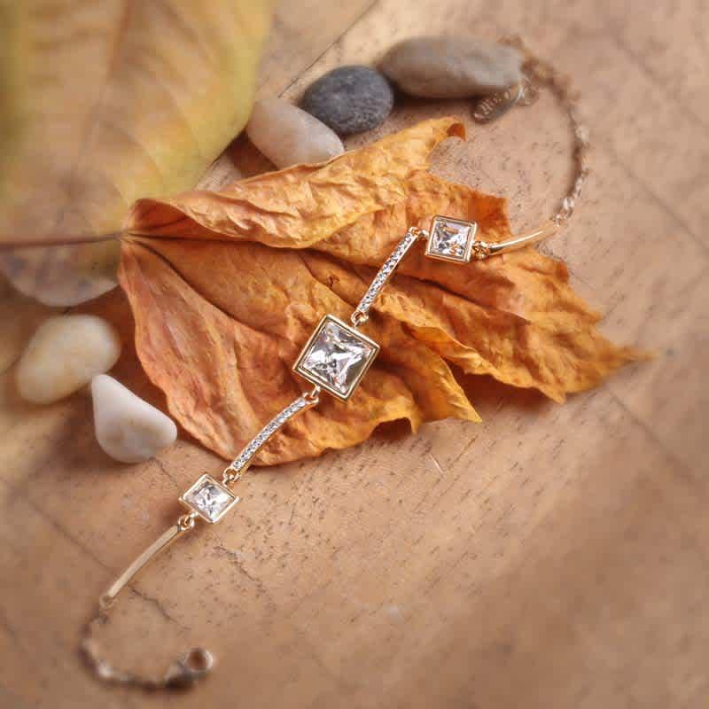 Crystal box Swarovski crystal bracelet
