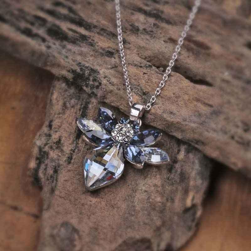 Jewel of Atlas Swarovski Crystal Pendant