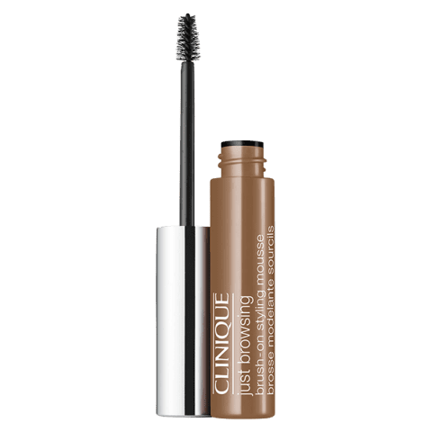 Clinique Just Browsing Brush-On Styling Mousse Eyebrow Gel 02 Soft Brown 2 ml