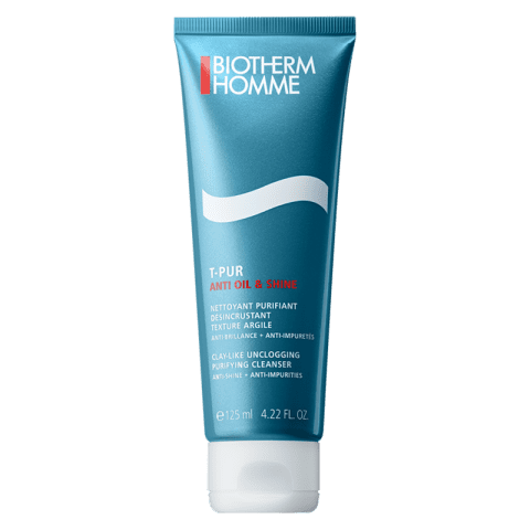 Biotherm Homme T Pur ANTI OIL & WET Purifying Cleanser 125 ml