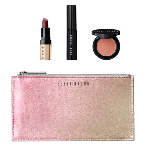 Bobbi Brown Holiday Collection The Clutch Classics Eye, Lip & Cheek 1 Set