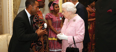 Adventist Student Meets the Queen