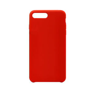 For iPhone7 Plus silicone Case Red