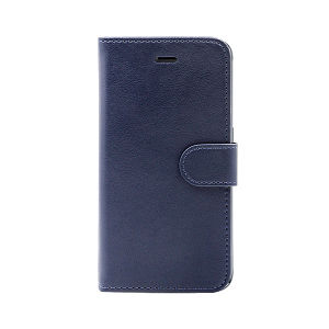 wallet leather case for Samsung s7 edge blue
