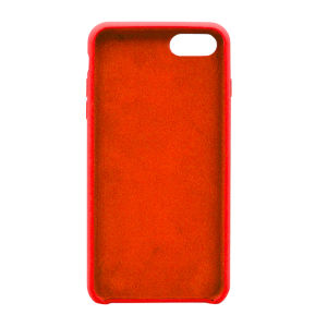 For iPhone 7 silicone case Red