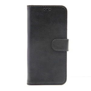 For Samsung S8 Genuine leather Black