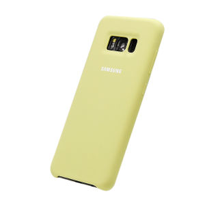 For Samsung Galaxy SM-G950F S8 Silicone Plain Matte Case Light Green