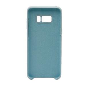 For Samsung Galaxy SM-G955F S8 Plus Silicone Plain Matte Case Light Green