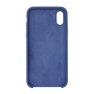 For iPhone X Silicon Case Cobalt Blue