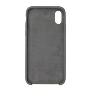 For iPhone X Silicon Case Olive