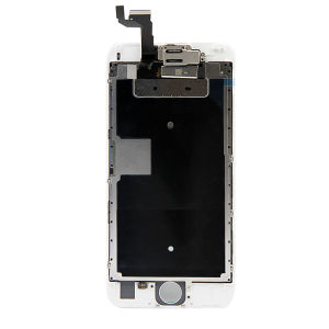 For iPhone 6S LCD Display White With Small Parts