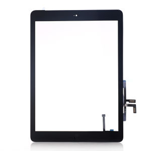 For iPad Air original touch black complete