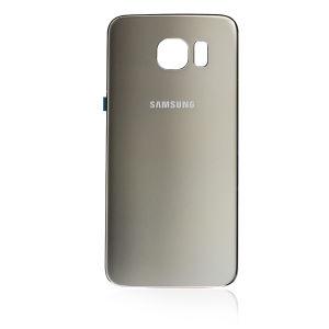 For Samsung Galaxy S6 Edge Back Cover Original Gold