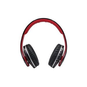 JKR-211B Multimedia Stereo Headphones Red