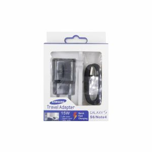 For Samsung Travel Fast Charging with Type-C Cable Black