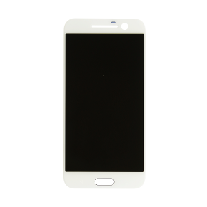 For HTC 10 LCD Complete White
