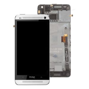 For HTC One M8 LCD Complete White