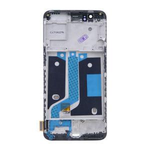 For OnePlus 5 LCDDisplayOriginal Assembly with Frame Black