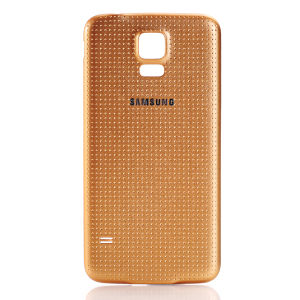For Samsung Galaxy S5 G900 Battery Cover Gold