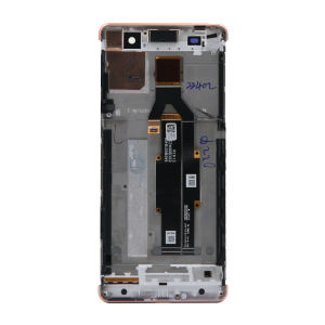 For Sony Xperia XA LCD Display Original Pink with frame