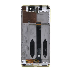 For Sony Xperia XA Ultra LCD Display Original Gold with frame