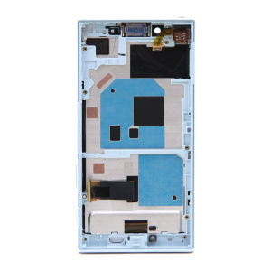 For Sony Xperia X Compact LCD Display Original Blue with frame