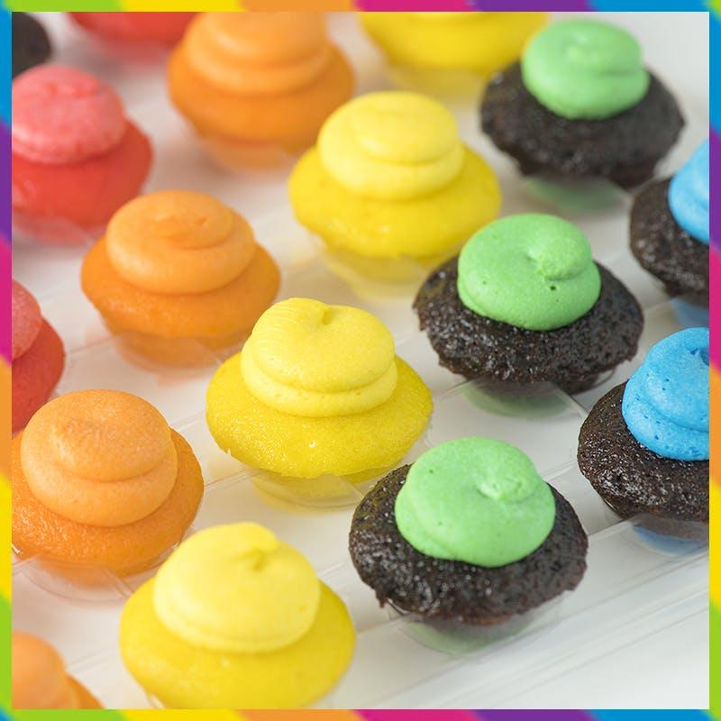 Pride cupcake