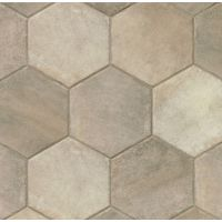 "Native 13.5"" x 13.5"" x 3/8"" Floor and Wall Tile in Grey"