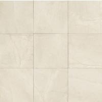 "Pulpis 24"" x 24"" x 3/8"" Floor and Wall Tile in Bianco"