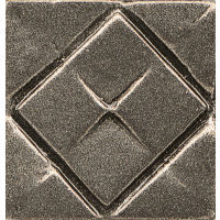 "Ambiance 1"" x 1"" x 1/2"" Trim in Brushed Nickel"