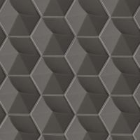 "Hedron 5"" x 4"" Wall Tile in Storm"