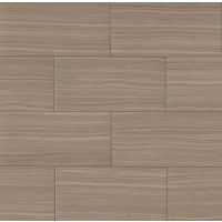 "Matrix 18"" x 36"" x 3/8"" Floor and Wall Tile in Taupe Blend"